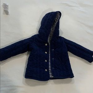 Reversible baby jacket
